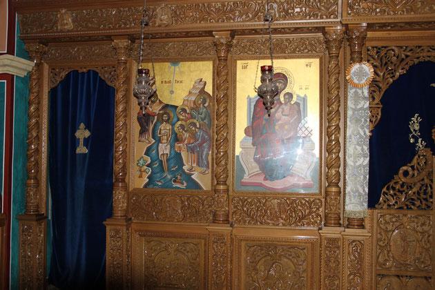Im Innenraum der orthodoxen  Kirche ff.