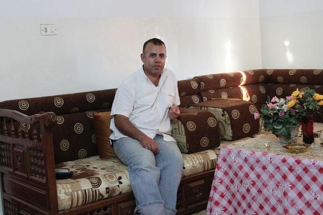 Wael, er hat noch 8 Geschwister.