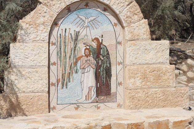 Jesus und Johannes der Täufer.