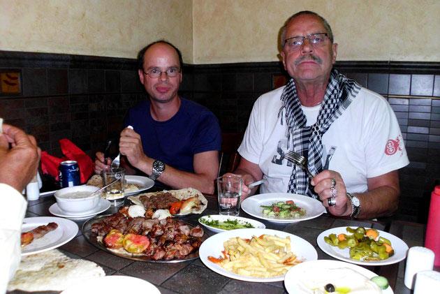 Eines der angesagtesten Restaurants Ammans.