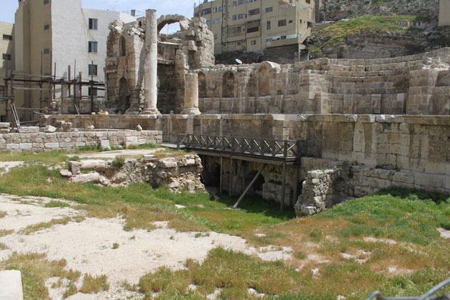 Das Nymphaeum-ein römisches Bad.