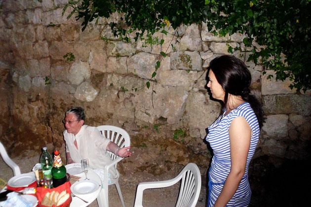 Renate und die Frau von Andrija, Paulina.