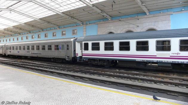 Der RENFE - Liegewagen