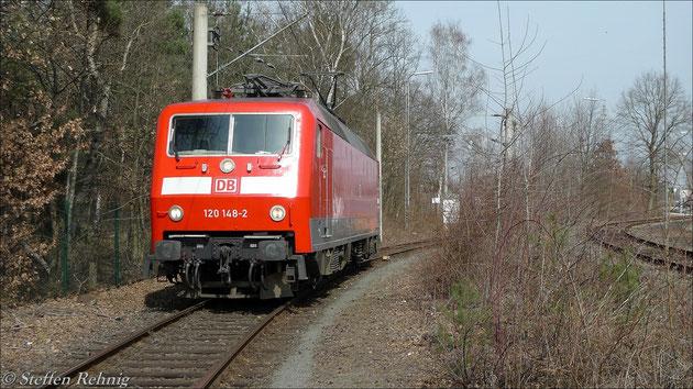 120 148-2 in Nürnberg (29. März 2012)