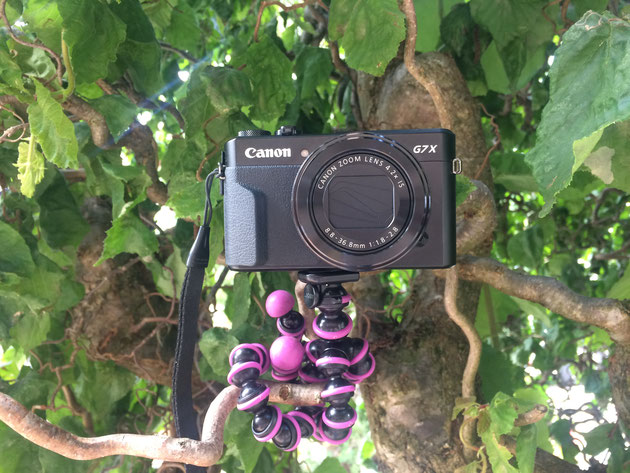 Canon PowerShot G7X Mark II - in Aktion!