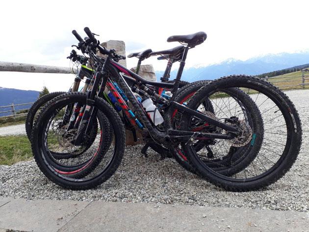 Pannenfrei durch die Alpen mit gecheckten Bikes