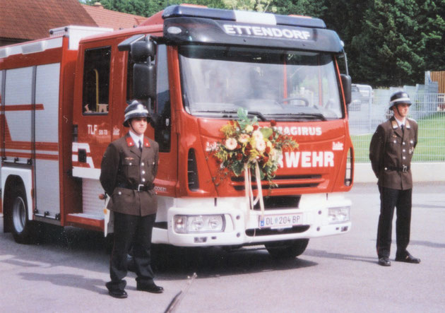Fahrzeugsegnung TLF 500TS 28.Mai 2006