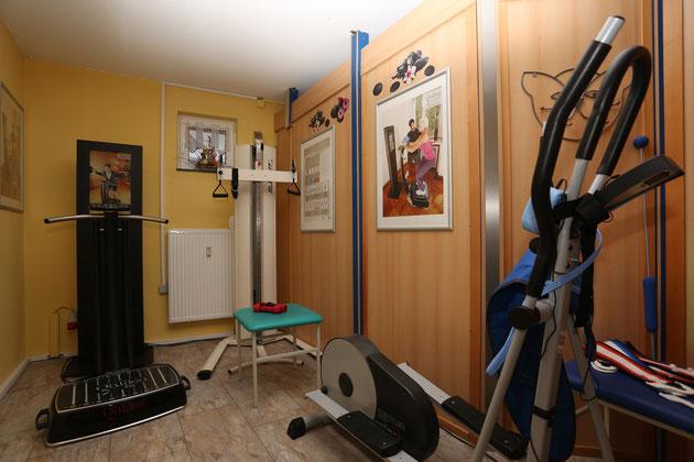 Galileo - Trainingsplatz mit Animationsmonitor / Crosstrainer mit Simply Belt Figurtrainingsgerät
