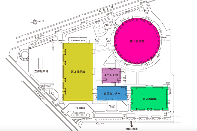 2019年のエクステリア&ガーデンフェア名古屋は第一展示館で開催!