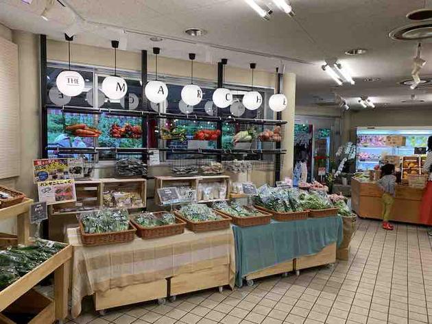 オシャレにリニューアルされたフルーツパークの売店