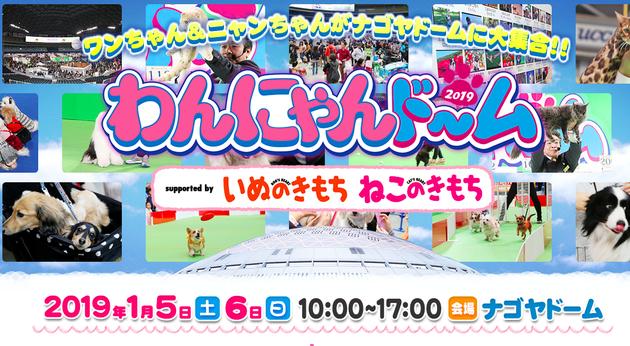 柴垣グリーンテック来年一番目のイベントはわんにゃんどーむ2019!!!