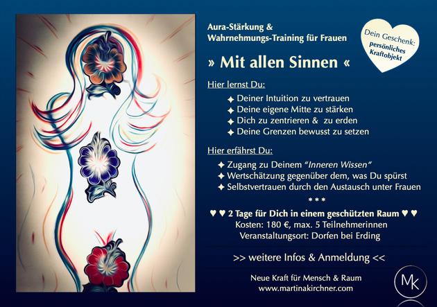"""Seminar """"Eine starke Mitte für Dich & Dein Zuhause"""""""