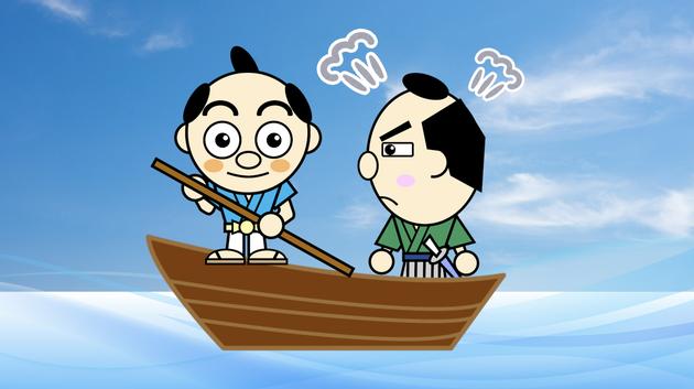 大分県産ローカルタレントが吉四六話「舟の渡し賃」をYouTubeで朗読