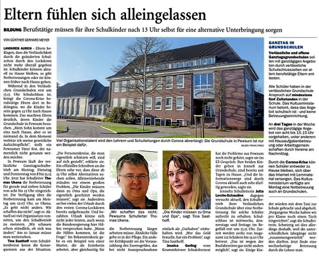 Emder Zeitung 16.12.2020