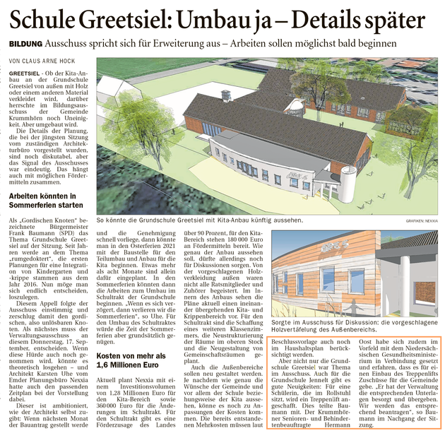 Ostfriesenzeitung 17.09.2020