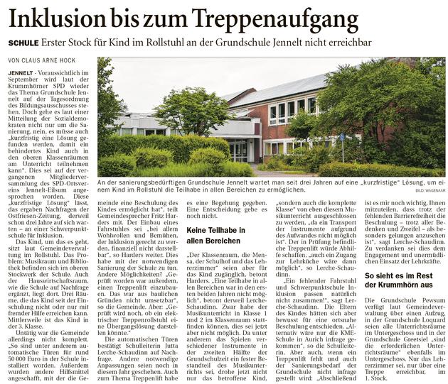 Ostfriesenzeitung 31.08.2020