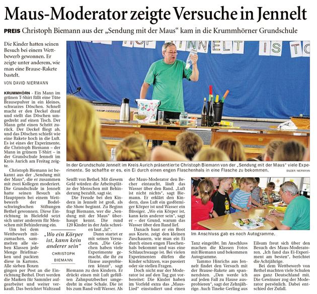 Ostfriesenzeitung 04.06.2018