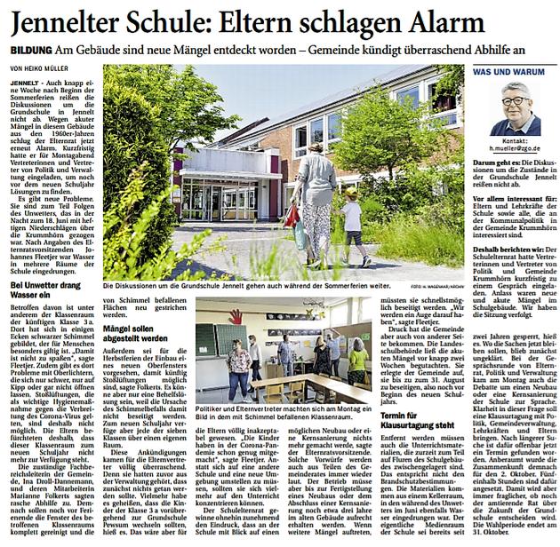Ostfriesenzeitung 28.07.2021