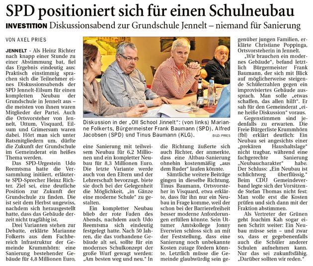 Ostfriesenzeitung 12.02.2020