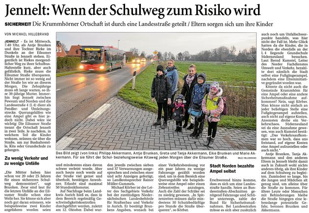 Ostfriesenzeitung 27.11.2020