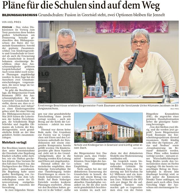Ostfriesenzeitung 07.03.2020