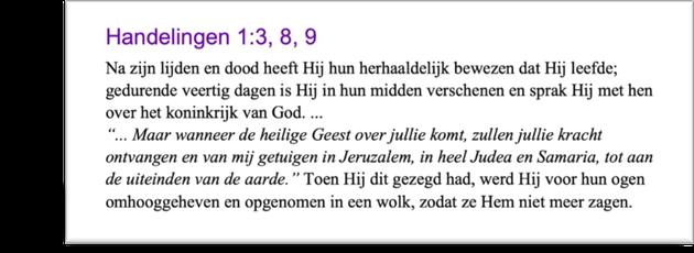 Hansdelingen 1:3,8,9
