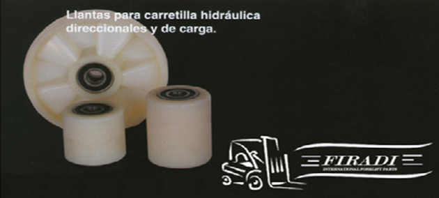 llantas para carretilla hidraulica