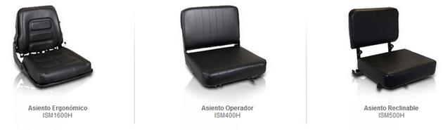 asientos montacarga accesorio partes refacciones accesorios montacargas mexico