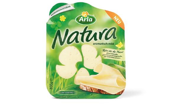 Arla - Natura - Käse - DesignKis  - Packaging - Design - 2012 - Verpackung