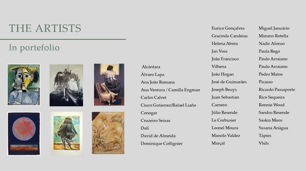 Art investment golden visa Portugal portfolio