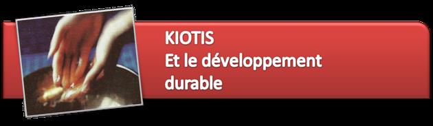 kiotis es le développement durable