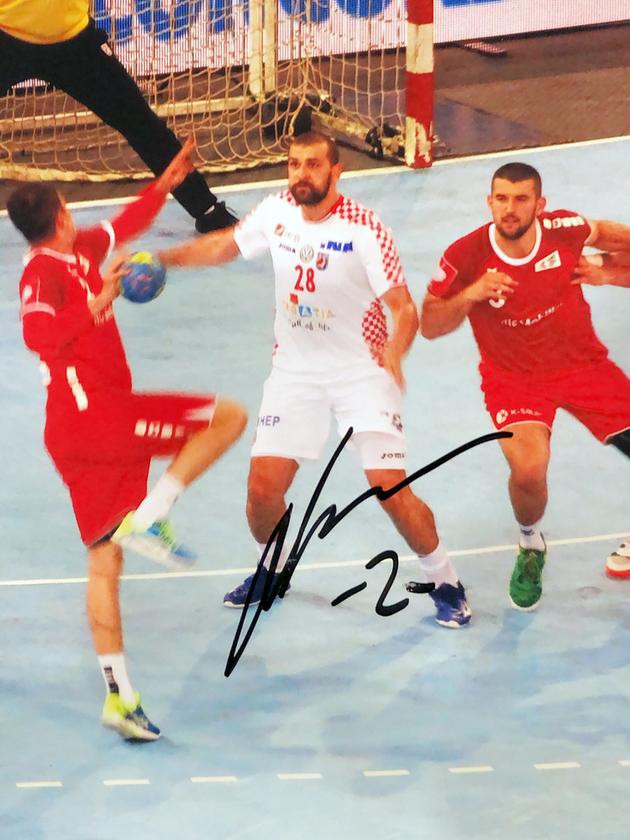 Autograph Zeljko Musa Autogramm