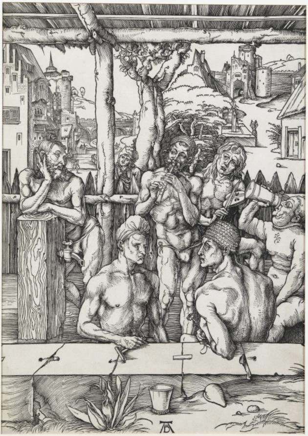Bains et jeux,  XVIe siècle