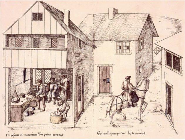 Les dessins de Heinrich Gross réalisés à l'attention du Duc de Lorraine venant visiter ses mines à La Croix-aux-Mines en 1529 constituent un inestimable témoignage de la fièvre de l'argent qu'a connu le Massif Vosgien au début du XVIe siècle.