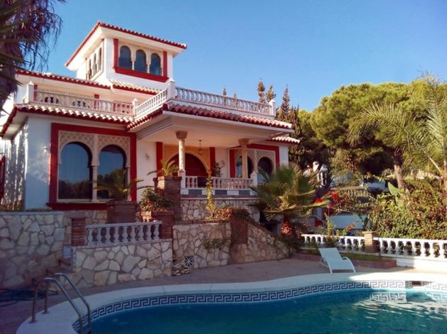 Villa im maurischen Stil Las Calas de Mijas Costa del Sol Andalusien