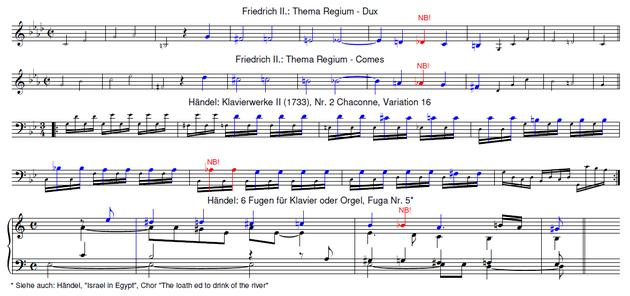 Friedrich der Große + Händel