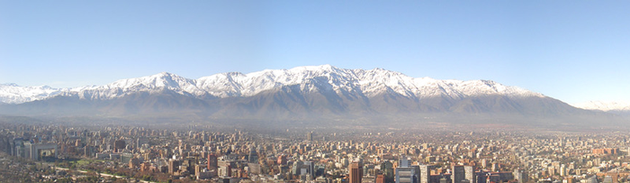 Santiago, Chile (click to zoom)