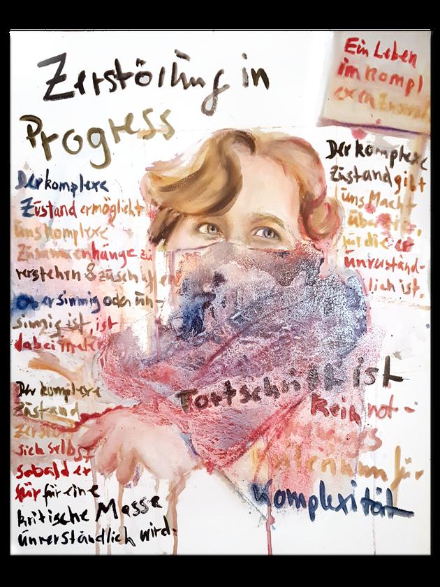 Malerei Hamburg Gänsemarkt