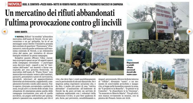 La Gazzetta del Mezzogiorno, 25/2/2012