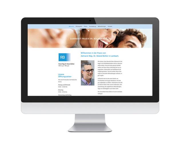 Zahnarzt Dr. Roland Bühler Homepage