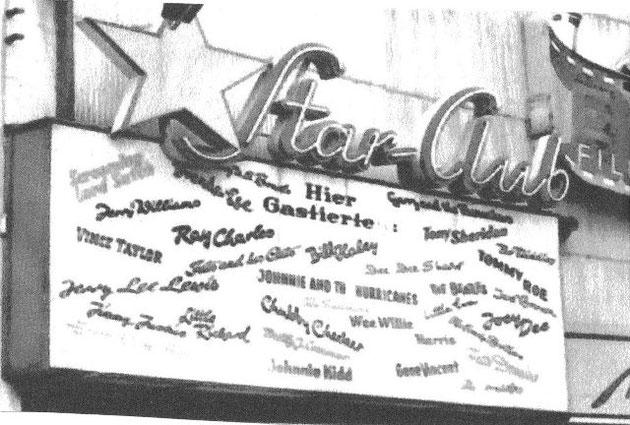 """Star-Club """"hier gastierten"""""""