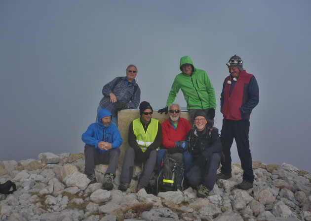 Sommet du Cheiron (17...80 m)