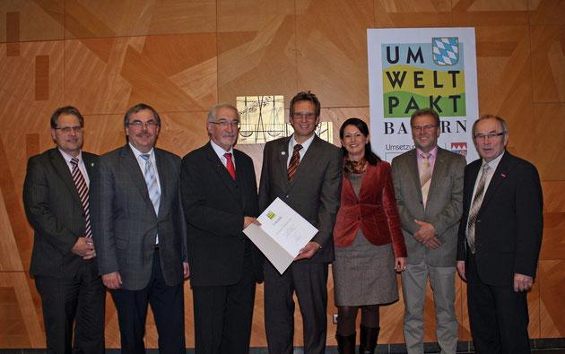 Auszeichnung am 05.11.2012