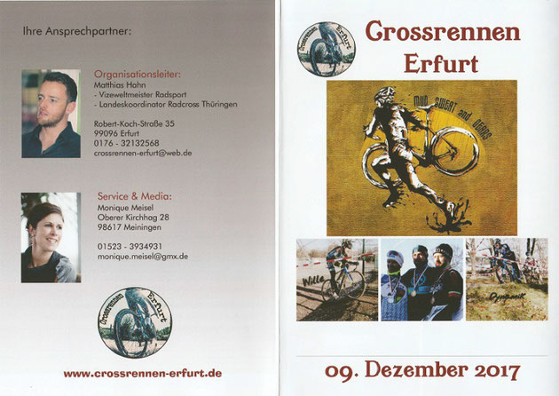 Sponsoren Flyer Deckblatt