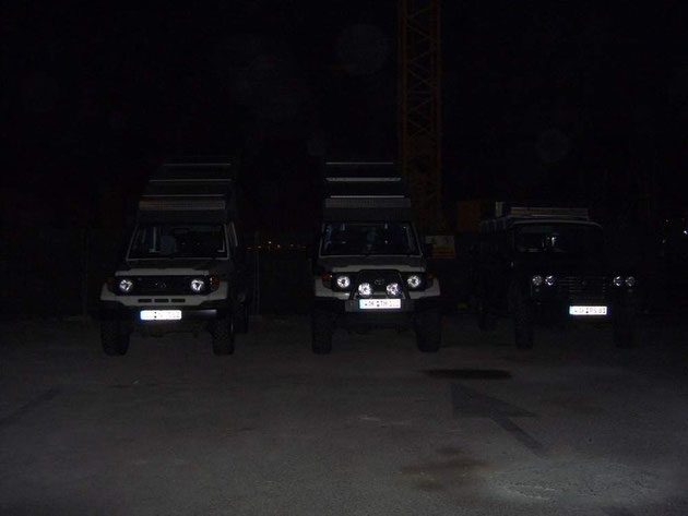 Die Drei in der Nacht
