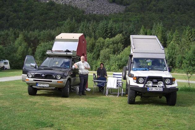 Einer unserer schönsten Campingplätze