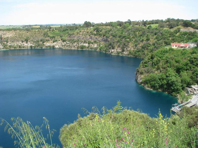 """Der wunderschöne """"Blue Lake"""""""