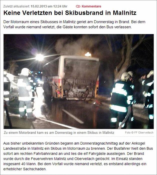 15.02.2013: Quelle: http://www.kleinezeitung.at/kaernten/spittal/3246941/motorbrand-skibus.story#forummain
