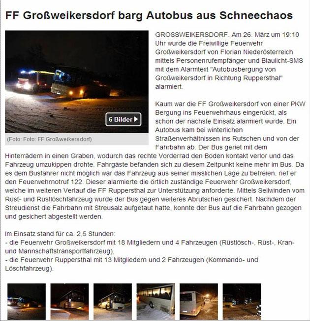26.03.2013: Quelle: http://www.meinbezirk.at/zwentendorf-an-der-donau/chronik/ff-grossweikersdorf-barg-autobus-aus-schneechaos-d523100.html