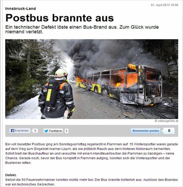 01.04.2013: Quelle: http://www.xn--sterreich-z7a.at/nachrichten/Postbus-brannte-aus/99785946